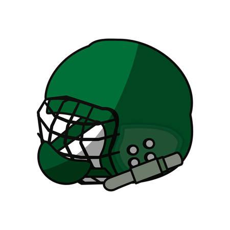 American football wear icon vector illustration graphic design