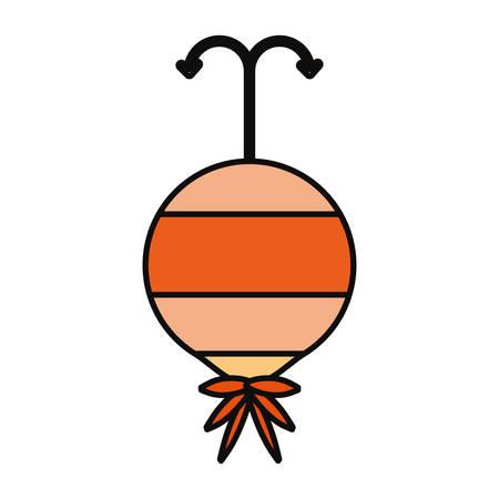 Fishing hook isolated icon vector illustration graphic design Illustration