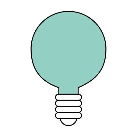 energy work: Bulb light energy icon vector illustration graphic design