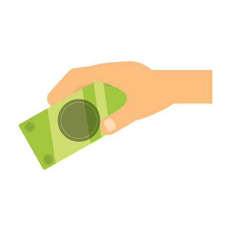 Billet of money icon vector illustration graphic design Illustration