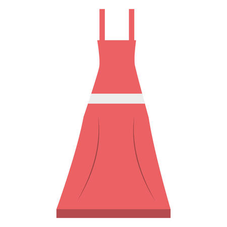 clothing store: Woman fashion clothes icon vector illustration graphic design Illustration