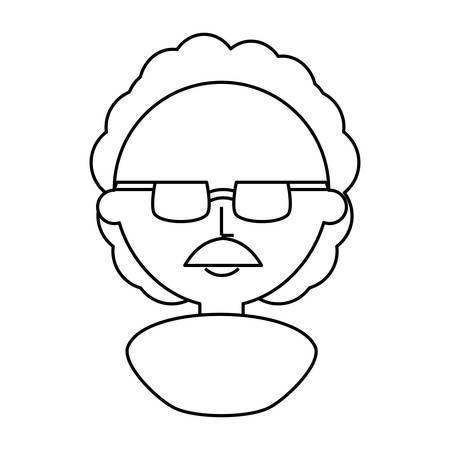 Professor  cute cartoon icon vector illustration graphic design
