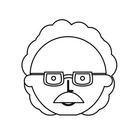 Professor  cute cartoon icon vector illustration graphic design Banco de Imagens - 82827236