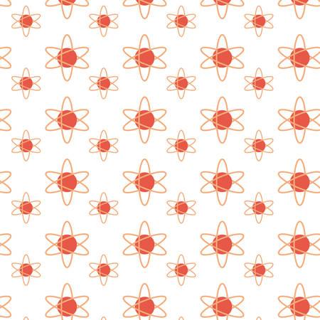 Atom science symbol icon vector illustration graphic design Illustration
