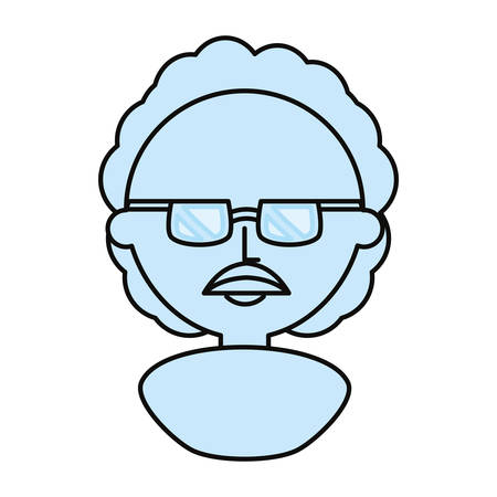 theories: Professor  cute cartoon icon vector illustration graphic design