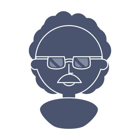 professor cute cartoon icon vector illustration graphic design Banco de Imagens - 82827311
