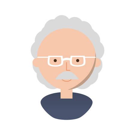 Professor cute cartoon icon vector illustration graphic design Banco de Imagens - 82827336