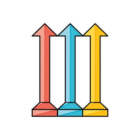 next icon: Arrow pointer symbol icon vector illustration graphic design