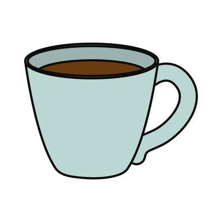 Coffee cup isolated icon vector illustration graphic design Illustration