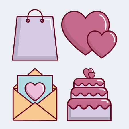 wedded: Wedding gift ideas. Illustration