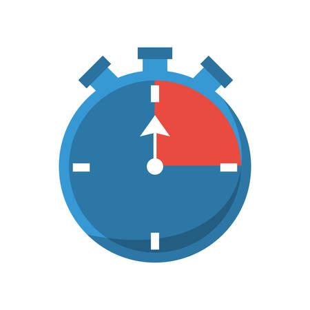seconds: Sport timer chronometer icon vector illustration graphic design Illustration