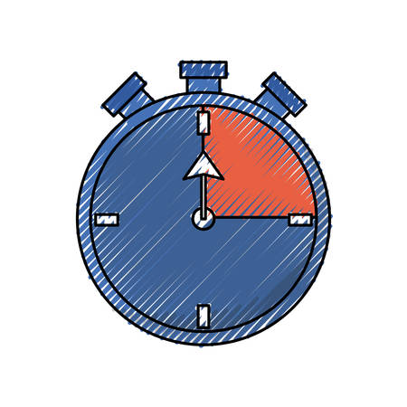 Sport timer chronometer icon vector illustration graphic design Иллюстрация