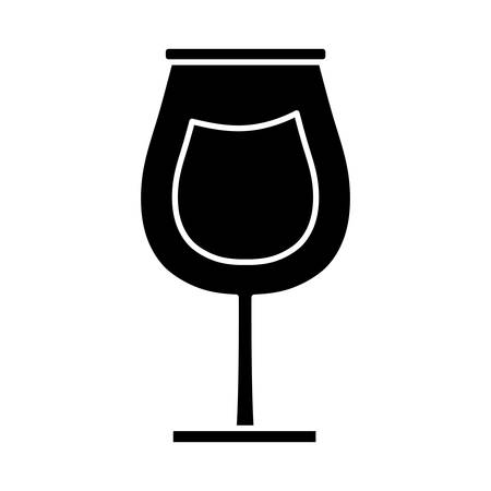 Wine bottle icon over white background vector illustration Иллюстрация