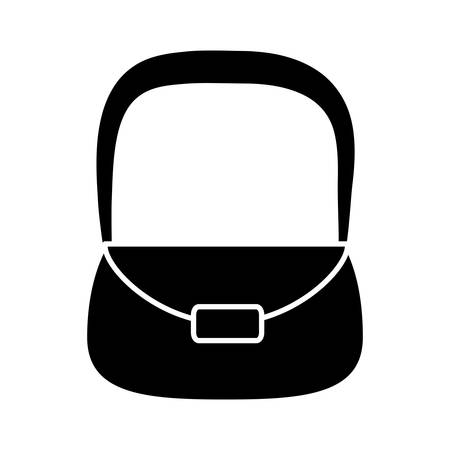 case: Handbag icon illustration.