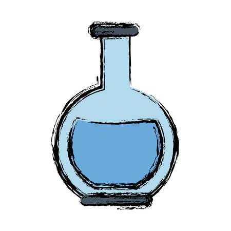 Laboratory flask icon.