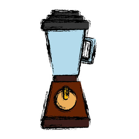 Blender icon over white background vector illustration Illustration