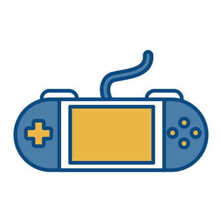 obsession: Portable video game icon vector illustration
