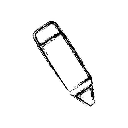 Crayon icon Illustration