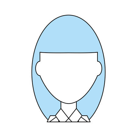 ceo: Business woman profile cartoon icon vector illustration graphic design.