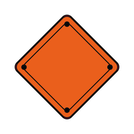 dangerous construction: Industrial security sign icon vector illustration graphic design