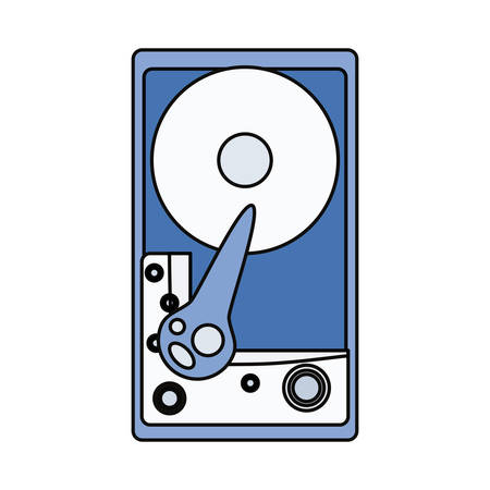 cd rom hardware icona illustrazione vettoriale illustrazione grafica
