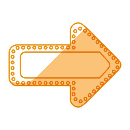 arrow signal light icon vector illustration graphic design Illustration