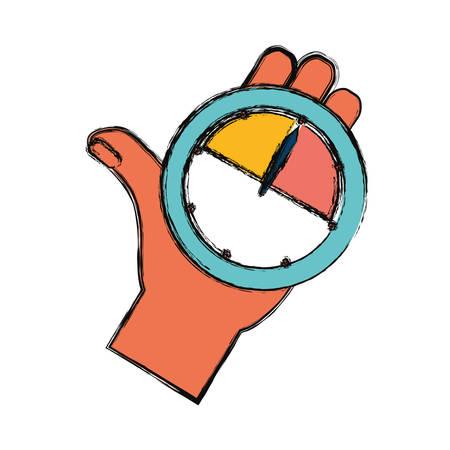 metrics: Key performance indicator symbol icon vector illustration graphic design