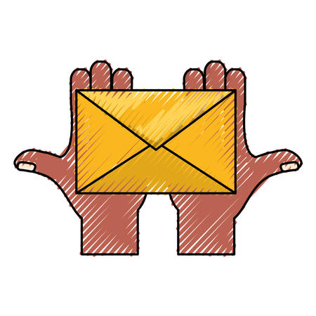 Email or mail symbol icon vector illustration graphic design Illustration