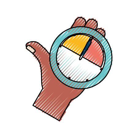 Key performance indicator symbol icon vector illustration graphic design