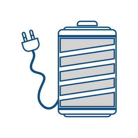 Battery energy symbol icon vector illustration graphic design Illustration