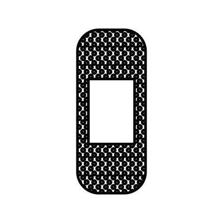 lijmverbindingspictogram op witte achtergrond vectorillustratie