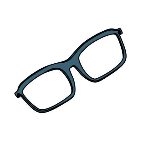 Fashion glasses isolated icon vector illustration graphic design