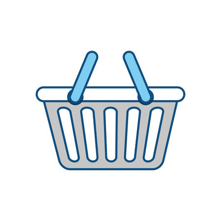 Shopping basket symbol icon vector illustration graphic design Illustration