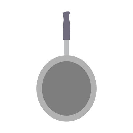colorful pan over white background vector illustration