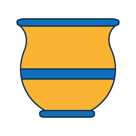 yerba mate icon over white background vector illustration