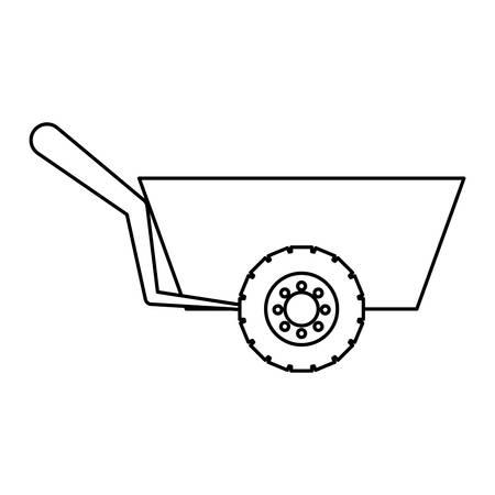 install: Wheelbarrow icon.