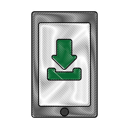 cellphone: cellphone device icon
