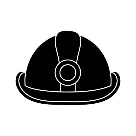private security: Safety helmet icon.