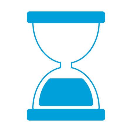 hourglass icon over white background vector illustration Illustration