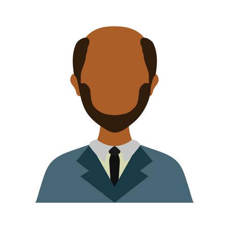 lawyer icon over white background colorful design vector illustration Illustration