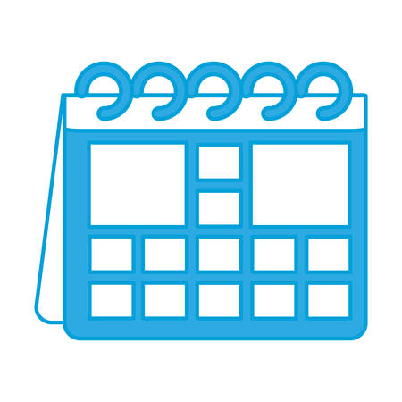 event planner: calendar icon over white background vector illustration
