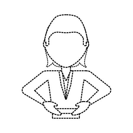 planning: cartoon businessman icon over white background vector illustration Illustration
