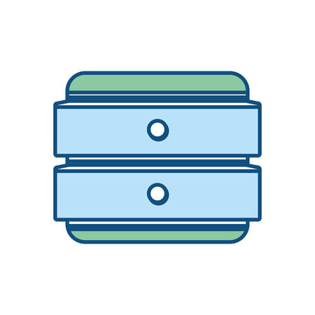 accessory: toolbox icon over white background colorful design vector illustration