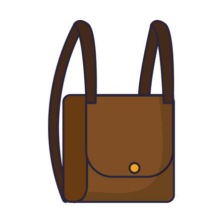 Travel backpack icon over.