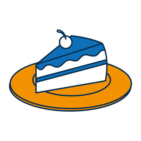 Piece of cake icon.