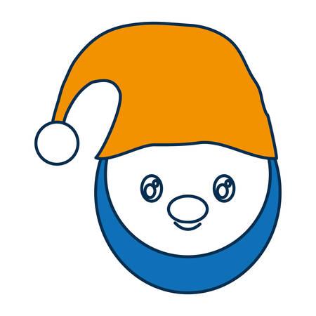 santa helper: santa helper icon over white background colorful design vector illustration