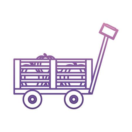 Main panier icône sur fond blanc illustration vectorielle Banque d'images - 89169542
