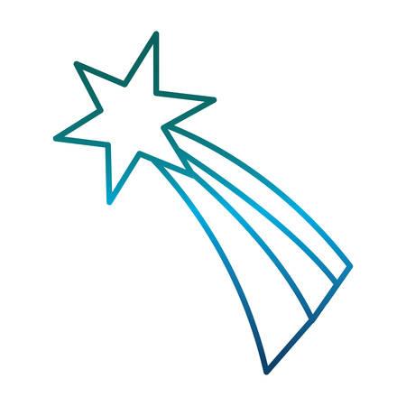 Icono de estrella fugaz. Foto de archivo - 89206382