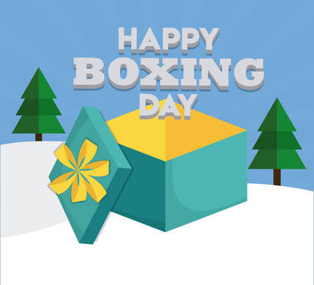 opened gift box  icon over colorful background colorful design vector illustration