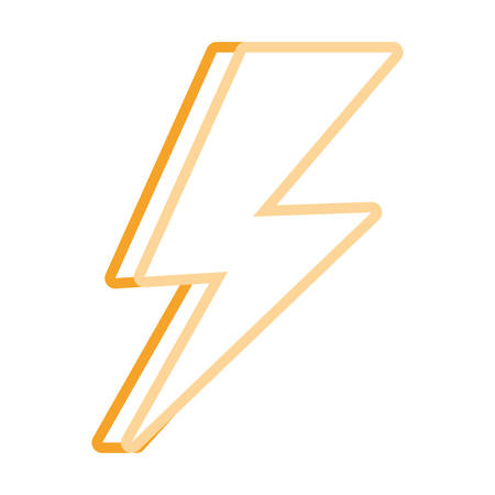 voltage sign: Thunder icon.